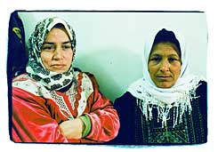 Heira Abu Hassan and Amiya Zakin