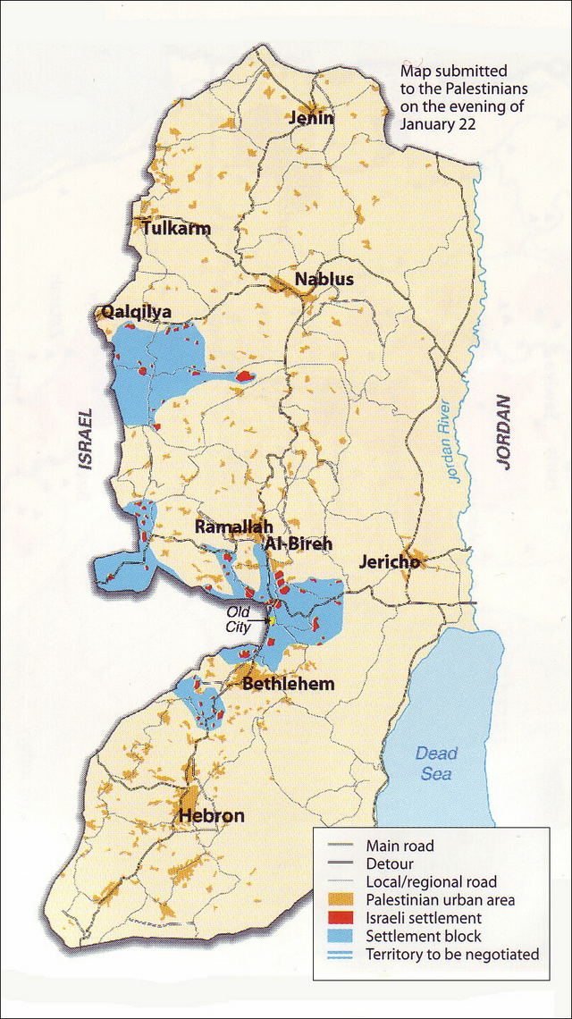 The West Bank at the Taba Talks (2)