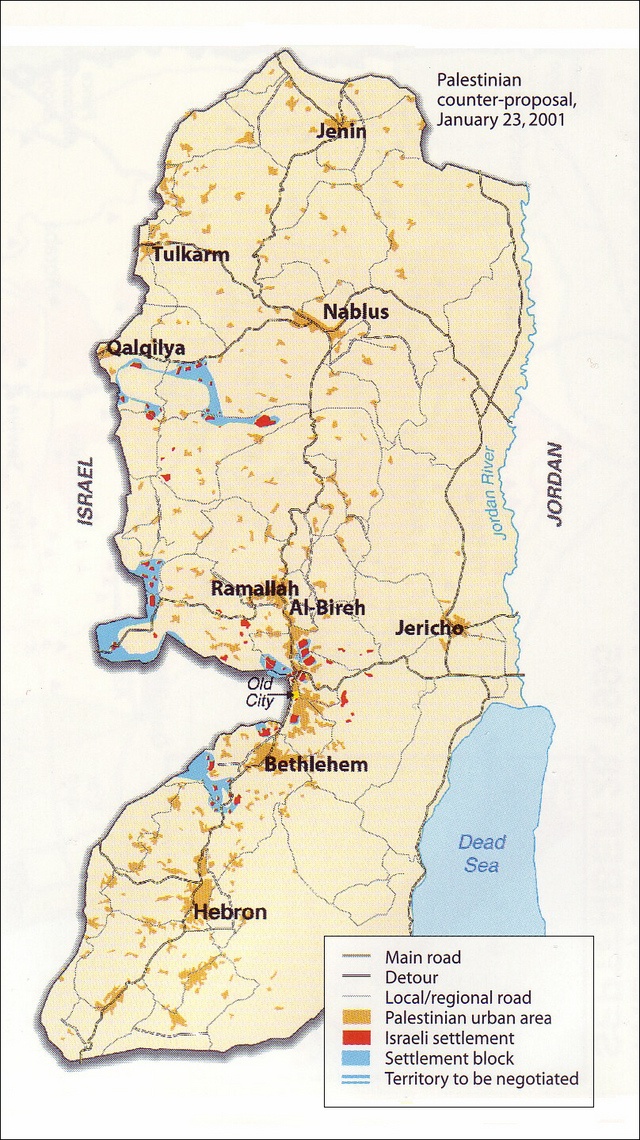 The West Bank at the Taba Talks (3)